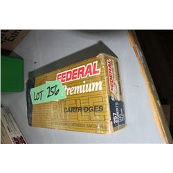 19 Rnds of 257 Roberts 120 gr. Factory Ammo