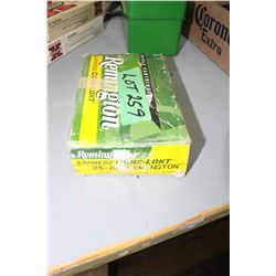 Box of 25-06 Remington 120 gr. Factory Ammo