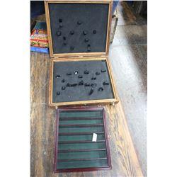 Wood Storage Box & a Display Shelf for Knives