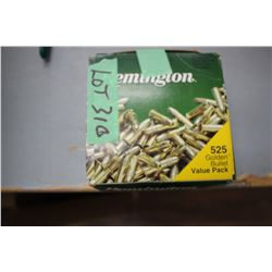 Approx. 450 Rnds of 22 Remington LR