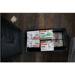 """10 Boxes of Winchester Xpert 12 ga. 2 3/4"""" #4 Shot Shells in a Cabelas Ammo Box"""