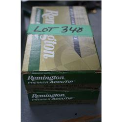 2 Boxes of Remington Premier Accutip 30.06 SPRG, 150 gr. Factory Ammo