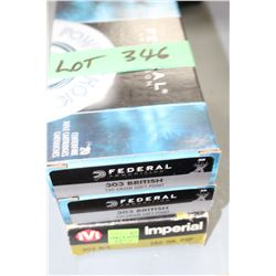 2 Boxes of Remington 303 British 174 gr Factory Ammo