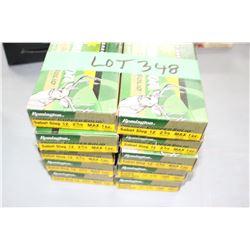 "10 Boxes of Remington 12 ga. 2 3/4"" Sabot Slugs"