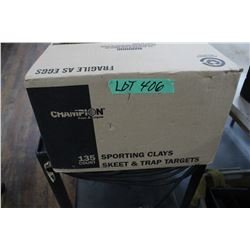 Box of Clay Pigeons