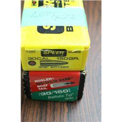 116 Rnds of 30 cal., 150 gr. Bullets