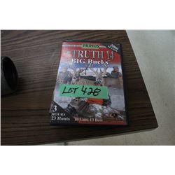 2 DVD's on Hunting Bucks with Bows & Guns