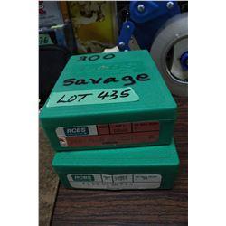 300 Savage & a 7mm Die Set