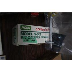 RCBS Model 5.0.2 Reloading Scale