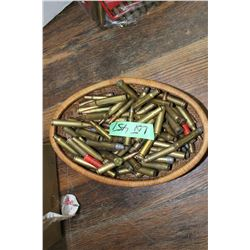 Basket of Misc. Ammo & Brass