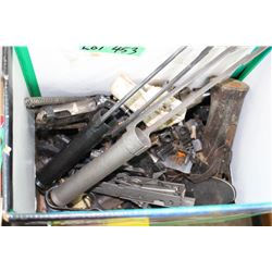 Box of Gun Parts