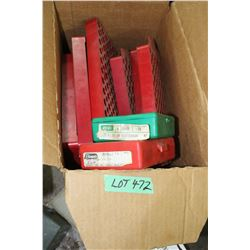 Box of Loading Trays & (2) 7 x 57 Mauser Dies