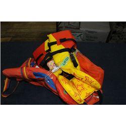 Floatation Vests - 2 Childs & 1 Adult