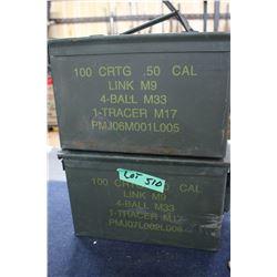 2 Ammo Boxes