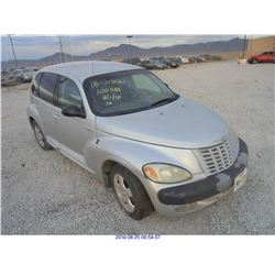 2001 - CHRYSLER PT CRUISER // REBUILT SALVAGE