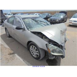 2005 - NISSAN ALTIMA // REBUILT SALVAGE // DAMAGED TITLE