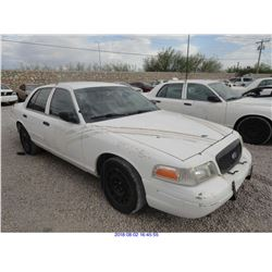 2011 - FORD CROWN VICTORIA // TEXAS TITLE
