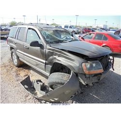 1999 - JEEP GRAND CHEROKEE LAREDO // REBUILT SALVAGE