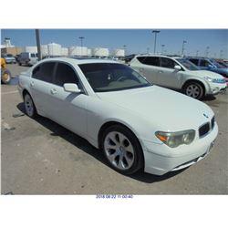 2004 - BMW 7-SERIES