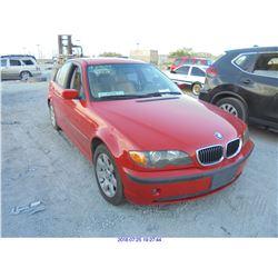 2003 - BMW 325I