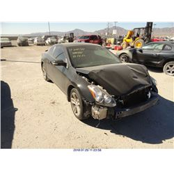 2012 - NISSAN ALTIMA // REBUILT SALVAGE // DAMAGED TITLE