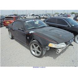2001 - FORD MUSTANG // REBUILT SALVAGE