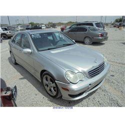2005 - MERCEDES BENZ C230