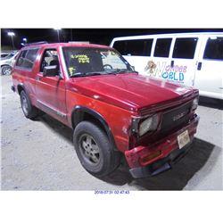1992 - GMC JIMMY