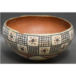 ISLETA INDIAN POTTERY BOWL
