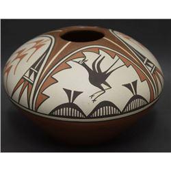 ZIA INDIAN POTTERY JAR (SHIJE)