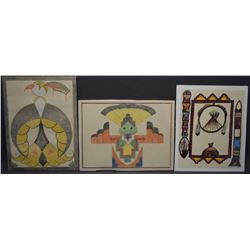 NAVAJO INDIAN PAINTINGS