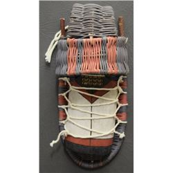 HOPI INDIAN CRADLE AND DOLL