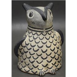 COCHITI INDIAN POTTERY OWL