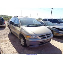 2000 - DODGE CARAVAN // REBUILT SALVAGE