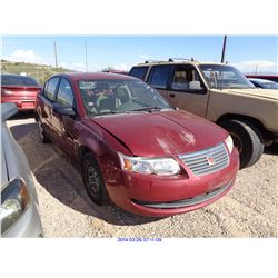 2005 - SATURN ION // SALVAGE TITLE