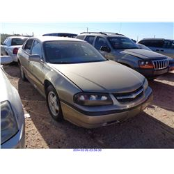 2005 - CHEVROLET IMPALA // RESTORED SALVAGE