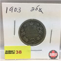 Canada Twenty Five Cent 1903