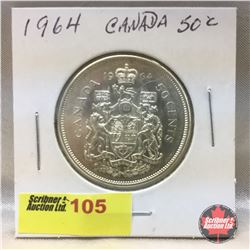 Canada Fifty Cent 1964