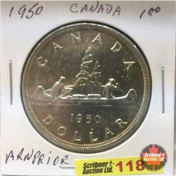 Canada Silver Dollar 1950 ARN