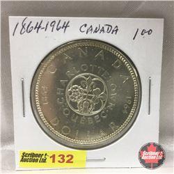 Canada Silver Dollar 1864-1964