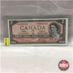 Canada $2 Bill 1954* (Replacement) : #*OG0289743