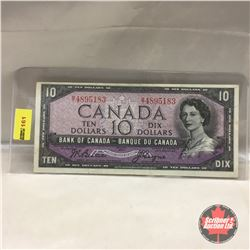 Canada $10 Bill 1954 #BT4895183