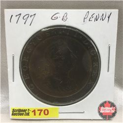 Great Britain Large Cent 1797