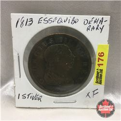 Essequibo & Demerary 1813 : 1 stiver