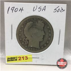 US Fifty Cent 1904