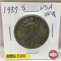 US Fifty Cent 1937S