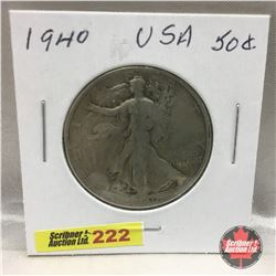 US Fifty Cent 1940
