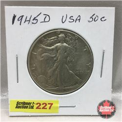US Fifty Cent 1945D