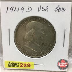 US Fifty Cent 1949D