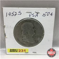 US Fifty Cent 1952S